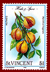 1985 Saint Vincent Nutmeg Stamp