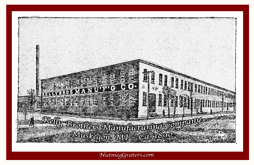 Kelly Bros. Manfacturing Co. 1883 Muskegon MI