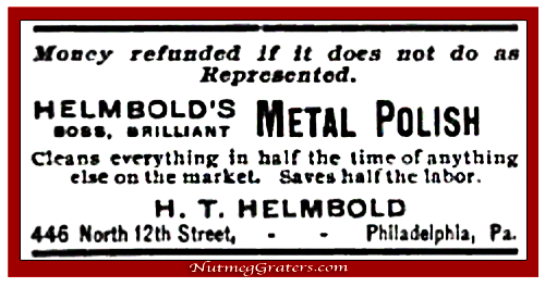 Helmbold Metal Polish Ad