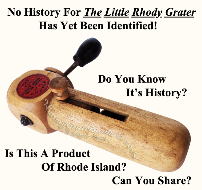 The Little Rhody Nutmeg Grater