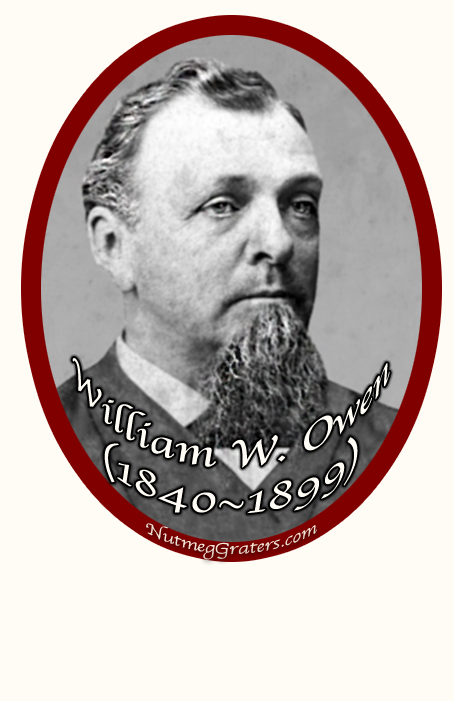 William W. Owen Muskegon Pioneer 1840 1899