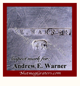 Fake Andrew E. Warner maker's mark