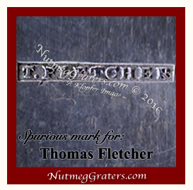 Fake Thomas Fletcher maker's mark